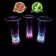 LED Flash Ice Glas multicolor 375 ml