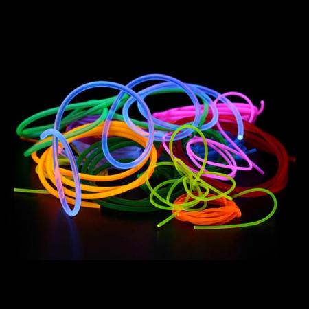 PVC-Leuchtschnur Set - Premium Knicklichter und leuchtende Partyartikel